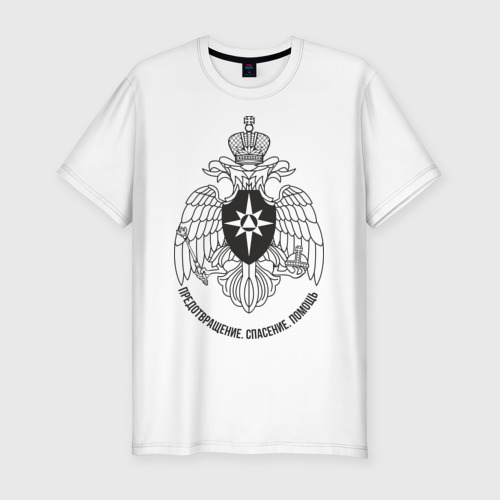 Мужская футболка премиум  Фото 01, МЧС (2)
