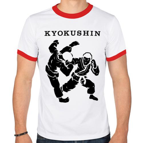 Мужская футболка рингер  Фото 01, Киокушинкай - кекусинкай
