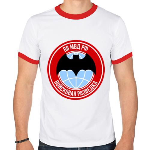 Мужская футболка рингер  Фото 01, Разведка ВВ