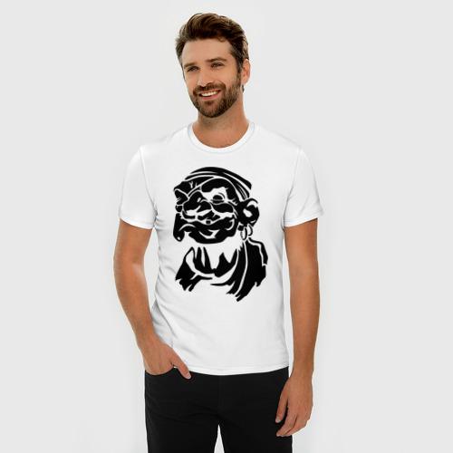 Мужская футболка премиум  Фото 03, Старый пират