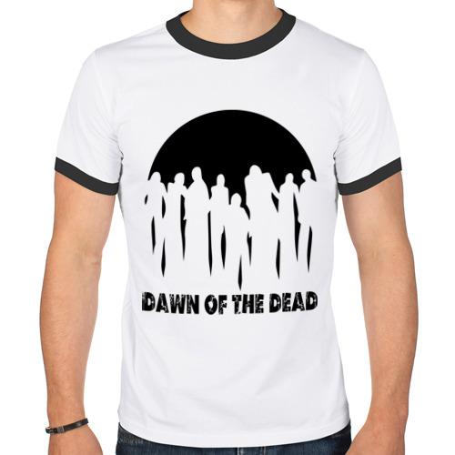 Мужская футболка рингер  Фото 01, Dawn of the dead