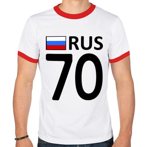 Мужская футболка рингер  Фото 01, Томская область (70)