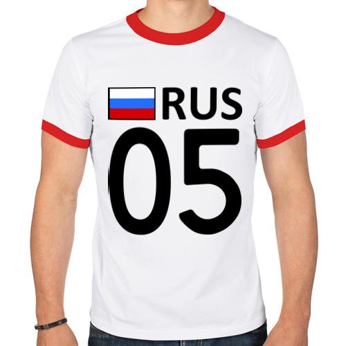 Мужская футболка рингер  Фото 01, Республика Дагестан (05)