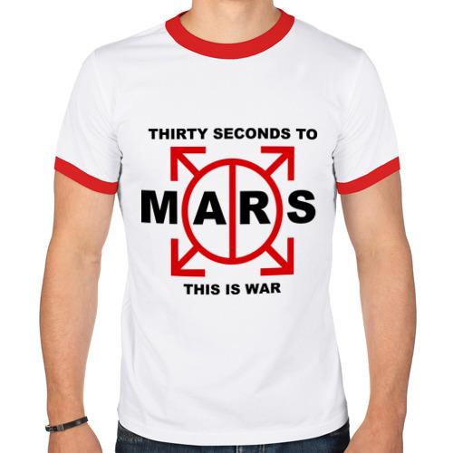 Мужская футболка рингер  Фото 01, 30 seconds to mars