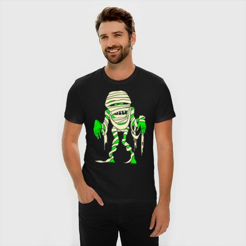 Мужская футболка премиум  Фото 03, Зомби