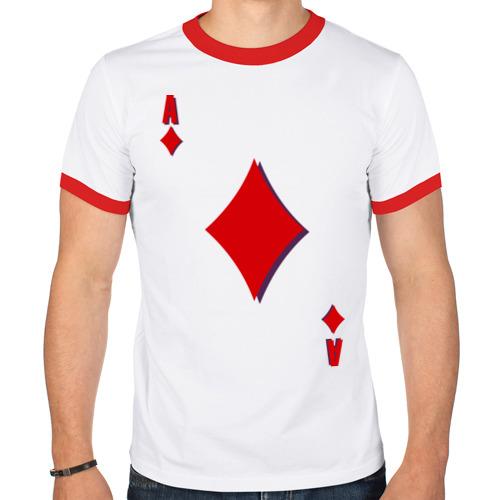 Мужская футболка рингер  Фото 01, Бубновый туз