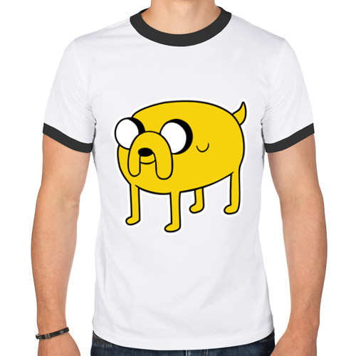 Мужская футболка рингер  Фото 01, Jake