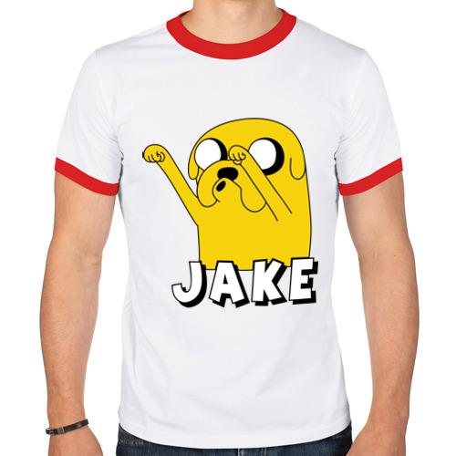 Мужская футболка рингер  Фото 01, Джейк