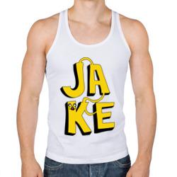 Надпись Jake
