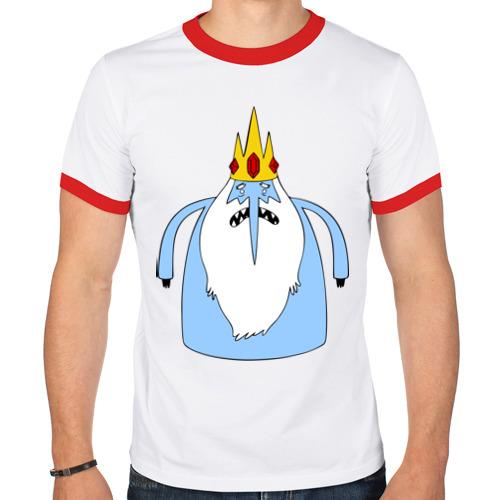 Мужская футболка рингер  Фото 01, Снежный король