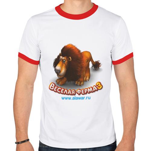 Мужская футболка рингер  Фото 01, Весёлая ферма 3