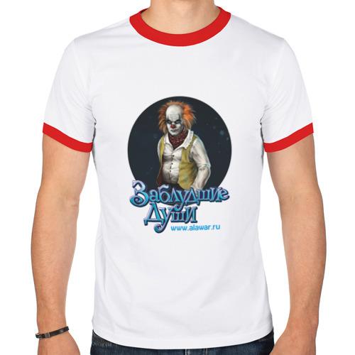 Мужская футболка рингер  Фото 01, Заблудшие души