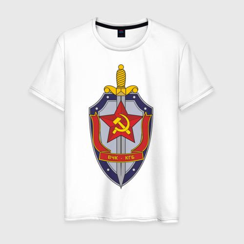 Мужская футболка хлопок ВЧК-КГБ