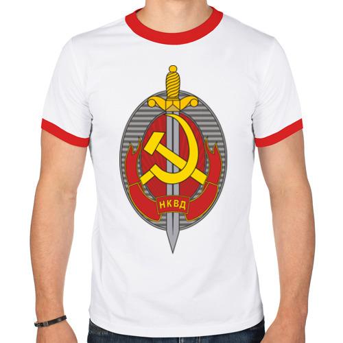 Мужская футболка рингер  Фото 01, НКВД