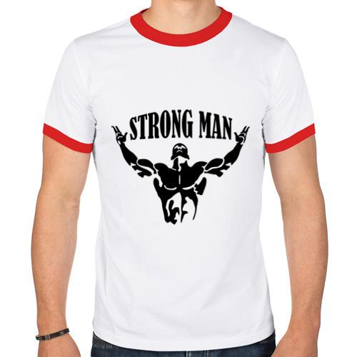 Мужская футболка рингер  Фото 01, Strongman