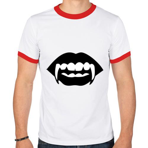 Мужская футболка рингер  Фото 01, Вампир