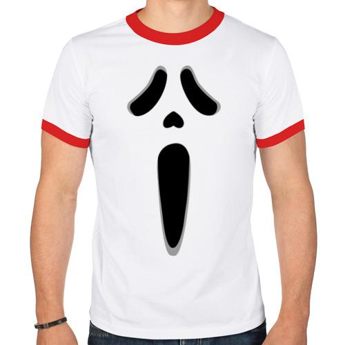 Мужская футболка рингер  Фото 01, Mask
