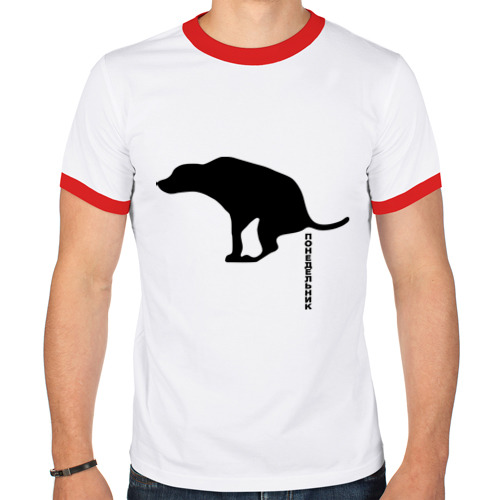 Мужская футболка рингер  Фото 01, Понедельник