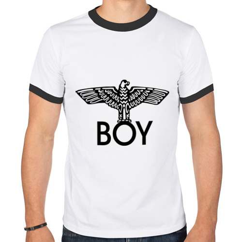 Мужская футболка рингер  Фото 01, Boy