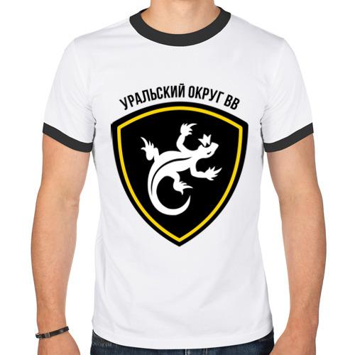 Мужская футболка рингер  Фото 01, ВВ уральский округ