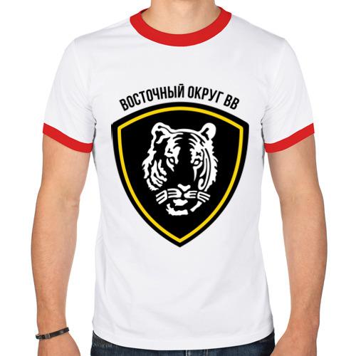 Мужская футболка рингер  Фото 01, ВВ восточный округ