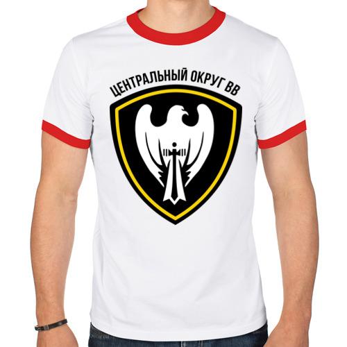 Мужская футболка рингер  Фото 01, ВВ центральный округ