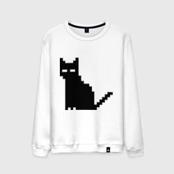 Пиксельный котик