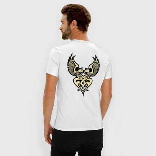 Мужская футболка премиум  Фото 04, Шикарная тату на спине