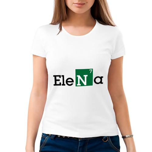 Женская футболка хлопок  Фото 03, Elena