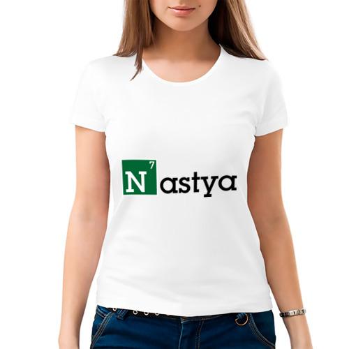Женская футболка хлопок  Фото 03, Nastya