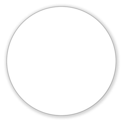 Коврик круглый Коврик круглый Снежинка от Всемайки