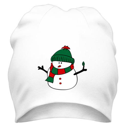 Шапка Снеговик от Всемайки
