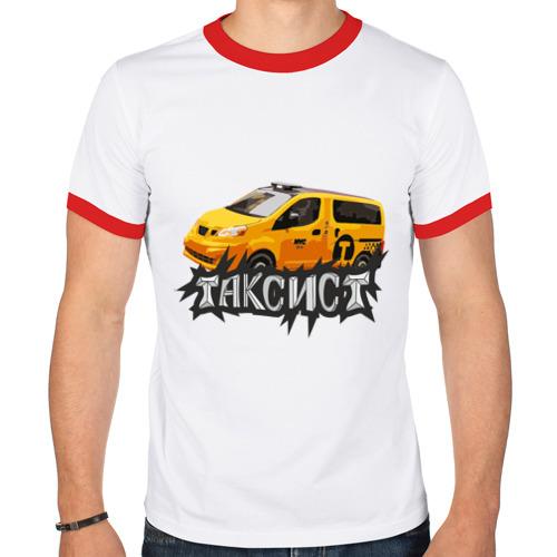 Мужская футболка рингер  Фото 01, Таксист