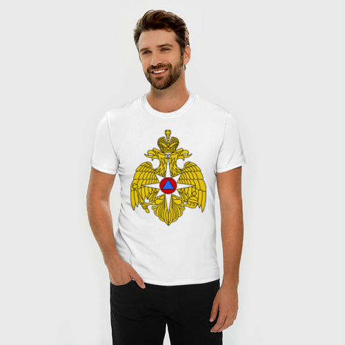 Мужская футболка премиум  Фото 03, МЧС России