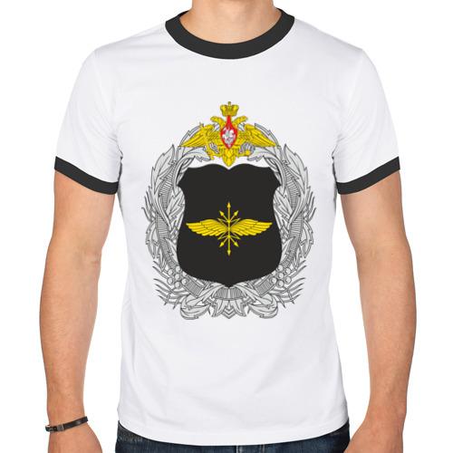 Мужская футболка рингер  Фото 01, Войска связи (4)
