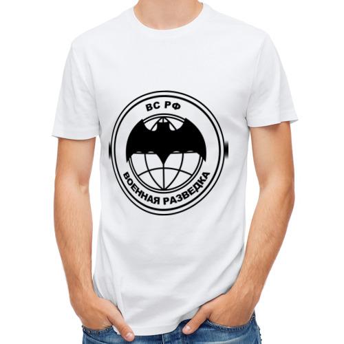 Мужская футболка полусинтетическая  Фото 01, Военная разведка