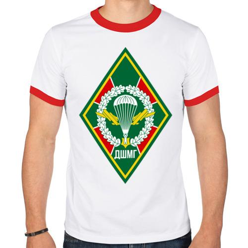 Мужская футболка рингер  Фото 01, ДШМГ