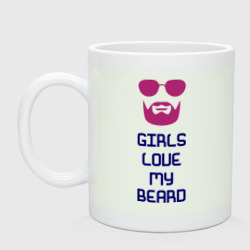 girls love my beard - интернет магазин Futbolkaa.ru