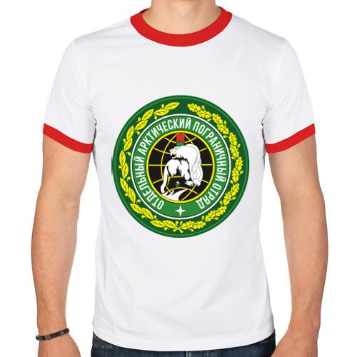 Мужская футболка рингер  Фото 01, Отдельный арктический пограничный отряд