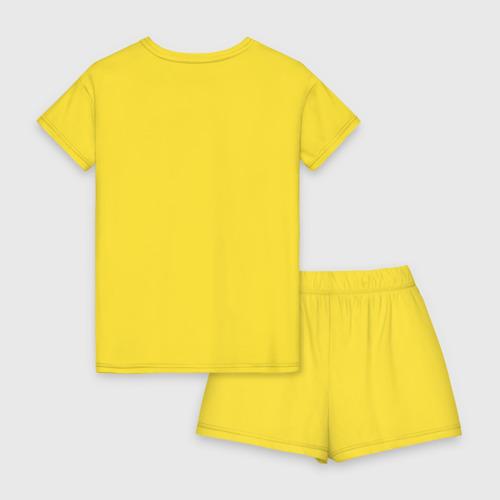 Женская пижама с шортиками хлопок Я не я когда голоден Фото 01
