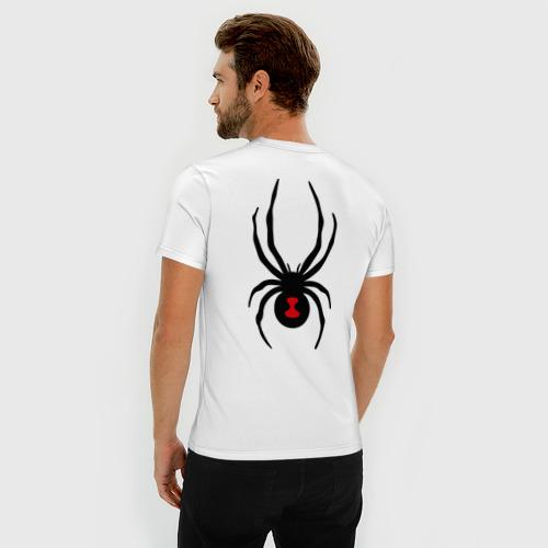 Мужская футболка премиум  Фото 04, Паук на спине