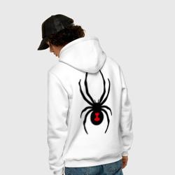 Паук на спине