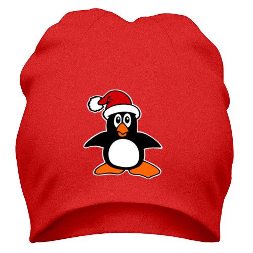 Шапка Новогодний пингвин.