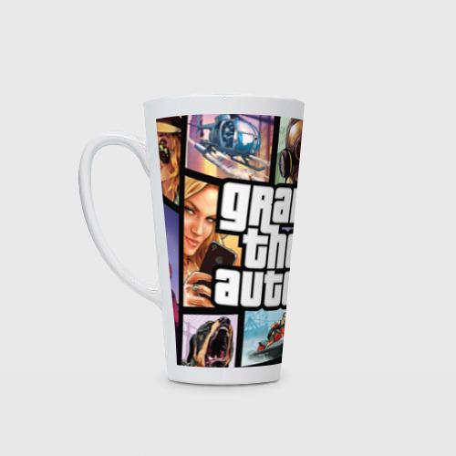 Кружка Латте GTA 5 logo