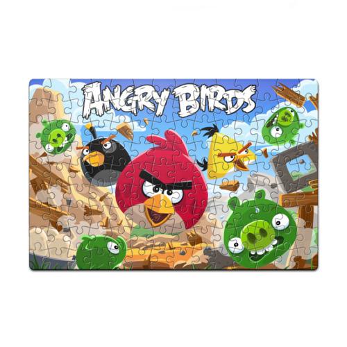 Пазл магнитный 126 элементов Angry birds от Всемайки