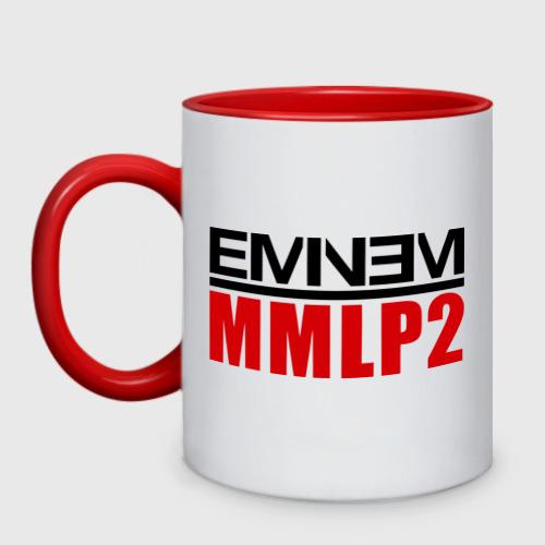Кружка двухцветная Eminem MMLP2