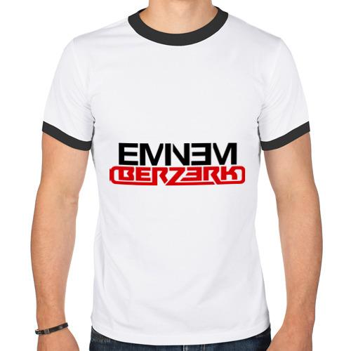 Мужская футболка рингер  Фото 01, Eminem - Berzerk