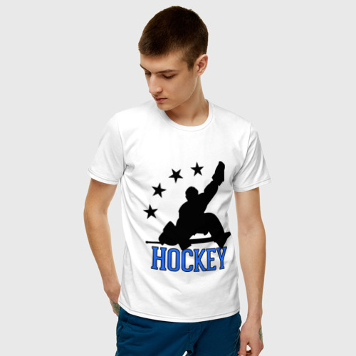 Мужская футболка хлопок Hockey (Хоккей) Фото 01