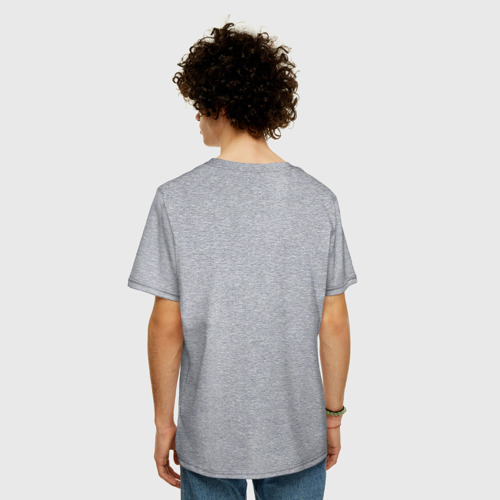 Мужская футболка хлопок Oversize Узбагойся!С новым годом Фото 01