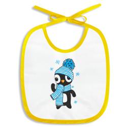 Пингвин в шапке с помпоном